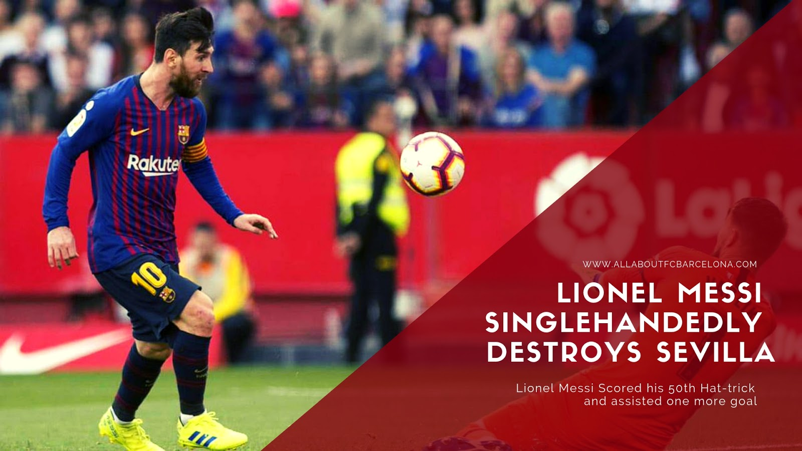 MESSI saves BARCELONA with an Out of the World Performance #Barca #Messi #BarcaSevilla