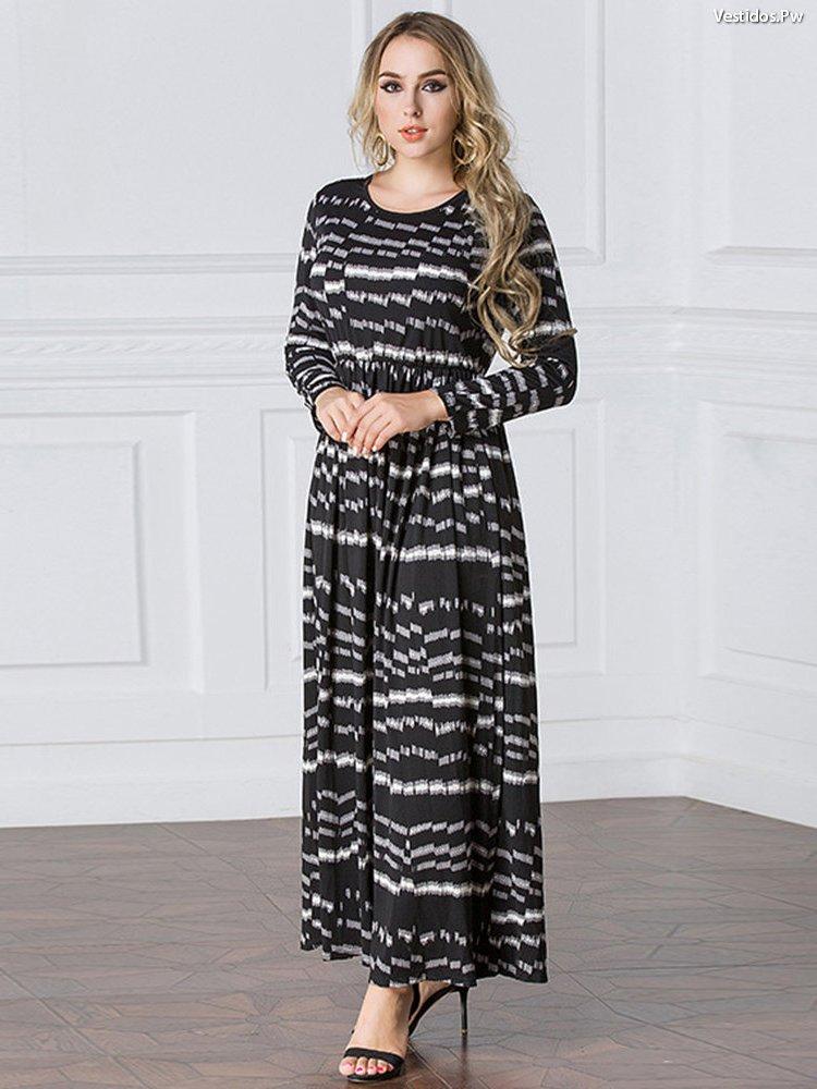 927389f2d Vestidos largos moda evangelica - Vestidos verdes