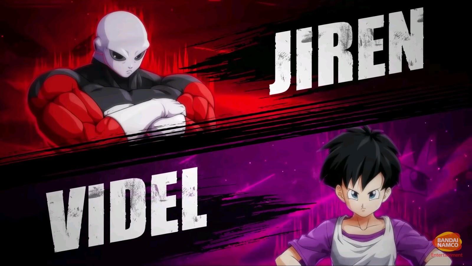 Dragon Ball Fighterz Jiren Vs Videl Gameplay