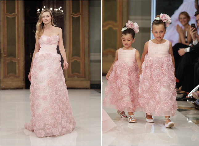 Matching Flower Girl Dresses to Bridal Gowns - Belle The ...