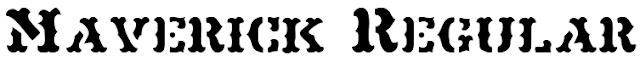 http://www.1001fonts.com/maverick-font.html