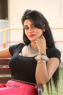 Telugu Actress Harini Stills at Dhyavudaa Movie Teaser Launch  0334.JPG