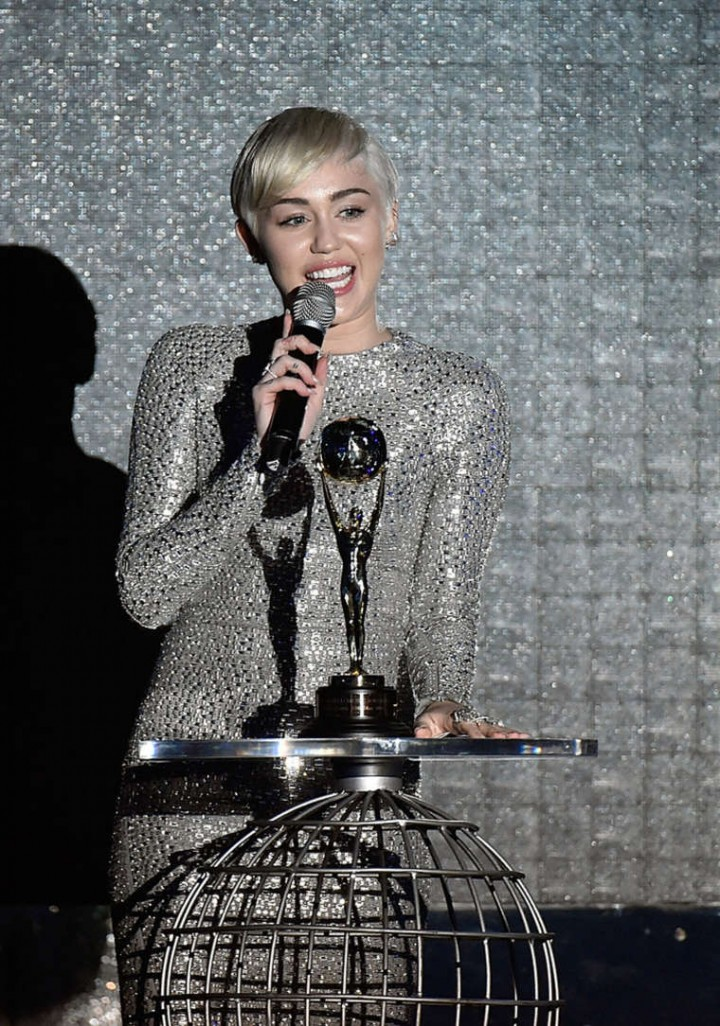 Miley Cyrus at the 2014 World Music Awards