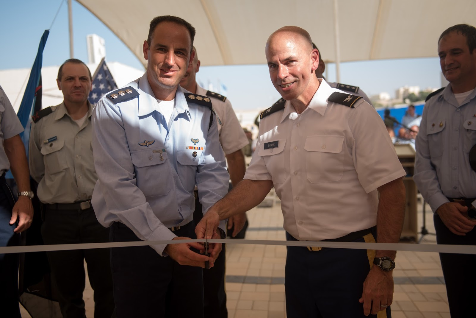 The times of israel in an article titled in first us establishes permanent military base in israel would note