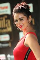 Meenakshi Dixit in Red One Shoulder Red Zipped up gown at IIFA Utsavam Award 30.JPG