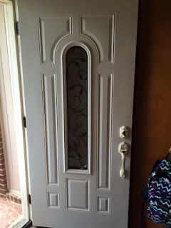 Primer front door before