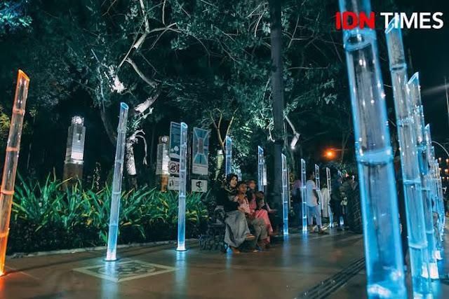 Taman sejarah Surabaya siap menemani waktu ngabuburit kamu