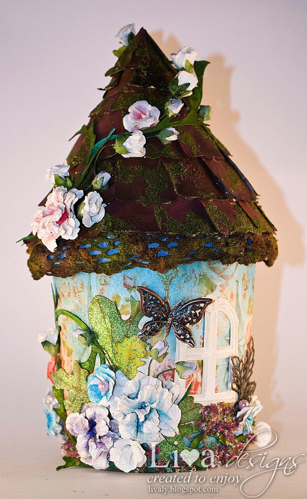 Livas Crafts Sweet Fairy House Tutorial