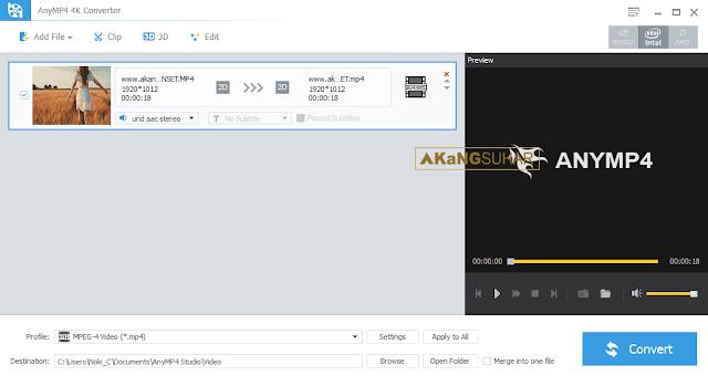 Download AnyMP4 4K Converter Full Version Terbaru