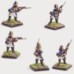 AWG8 Hessian fusilier, firing line.