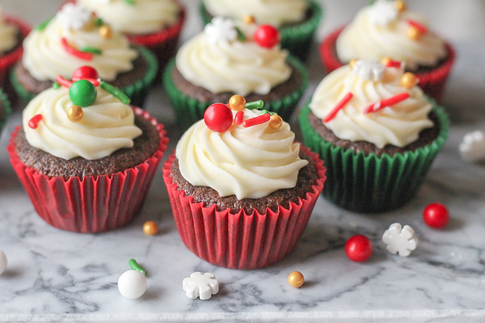 Irresistibly Fun and Easy Gingerbread Cupcakes