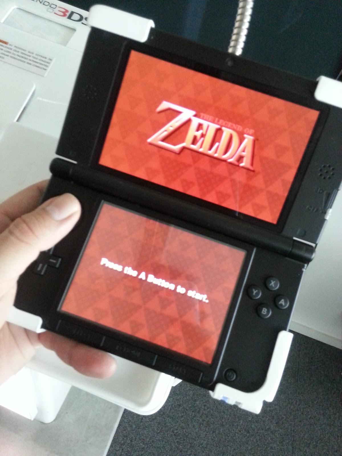 console zelda 3ds