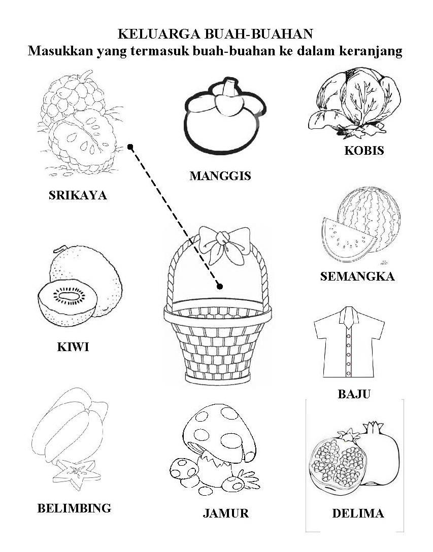 Worksheets Worksheet-anak-2-tahun im happy now in paud pendidikan anak usia dini preschool lks contoh tema tanaman