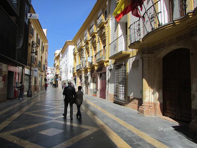 Lorca paseando por el centro