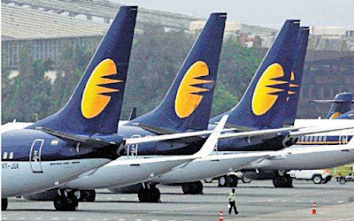 Jet Airways Downgraded to Default Grade