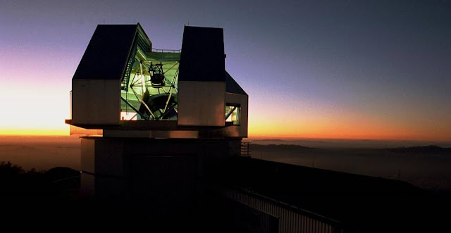"""The NEID instrument, to be completed in 2019, will be installed on the 3.5-meter WIYN telescope at the Kitt Peak National Observatory in Arizona, and detect exoplanets by measuring the miniscule """"wobbling"""" of stars. Credits: Mark Hanna/NOAO/AURA/NSF"""