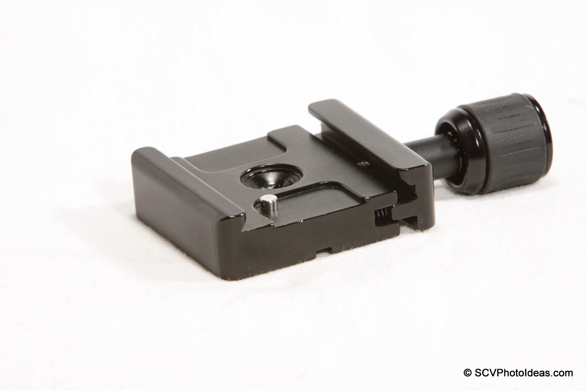 Triopo B-2 Quick Release Clamp side-top - jaws open