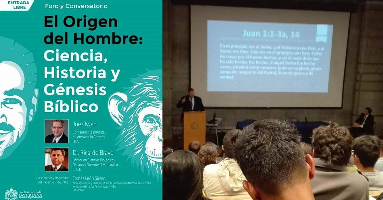 Blog Sin Dioses: Así fué la conferencia de Answer in Genesis en Bogotá