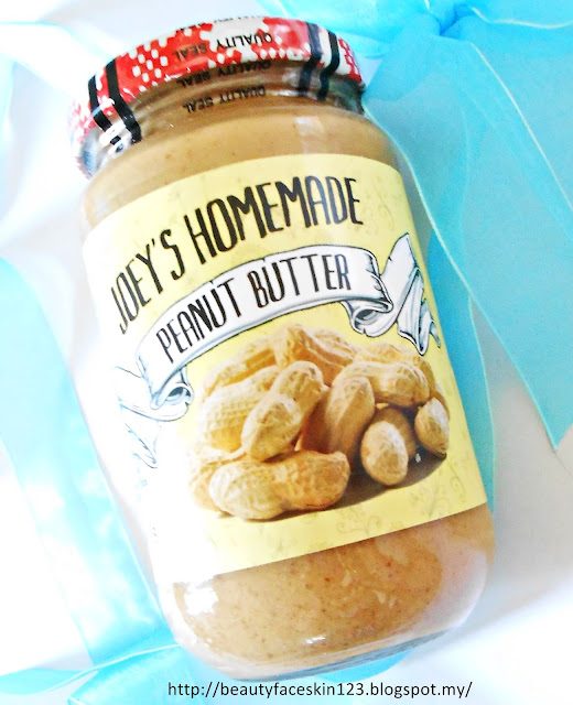 Joey's homemade peanut butter CUBECRATE NOVEMBER 2015 SUBSCRIPTION BOX