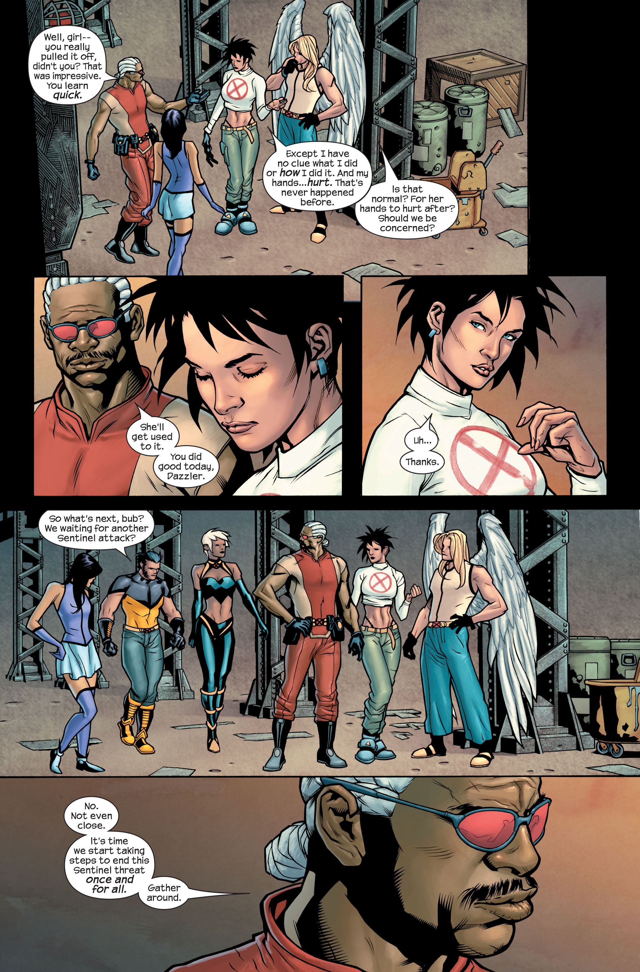 Read online Ultimate X-Men comic -  Issue #85 - 14