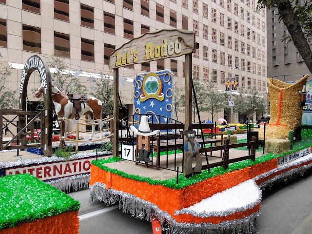 Houston Rodeo Parade Floats