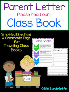 https://www.teacherspayteachers.com/Product/Parent-Letter-Traveling-Class-Books-815603