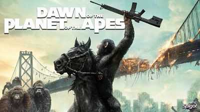 Dawn of the Planet of the Apes 2014 [English-Hindi]