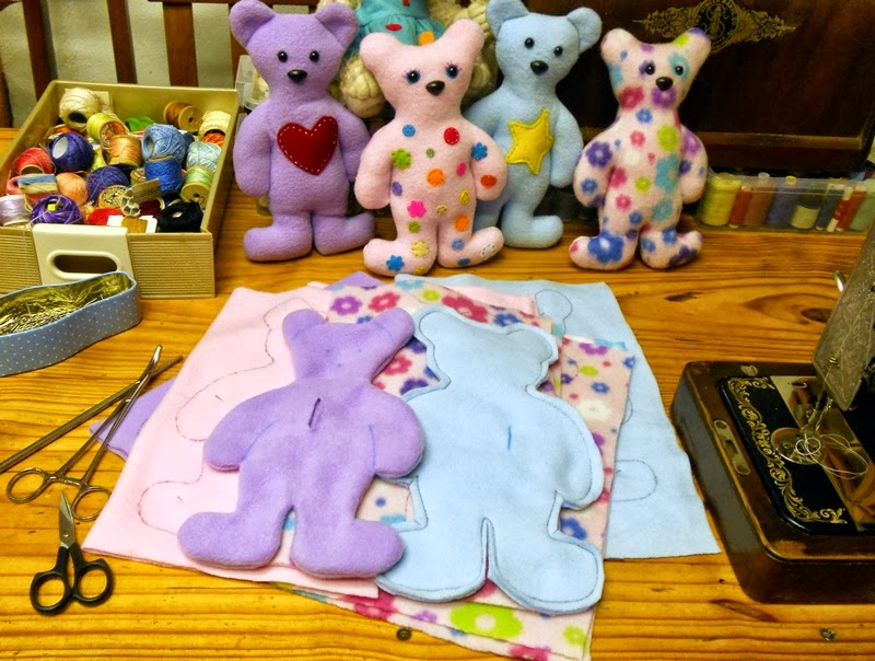 How To Make A Teddy Bear From Old Jeans | Home Design ... |Teddy Bear Template