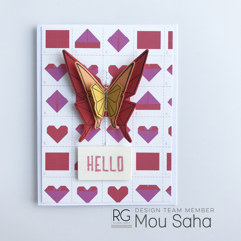 Hello monday have a great week love image collections - Origami Has Long Been One Of My Paper Crafting Favorites No Wonder I M Loving The Origami Trend In Crafting And Home Decor These Days One Collection