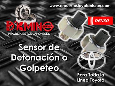 Sensores de Golpe Toyota