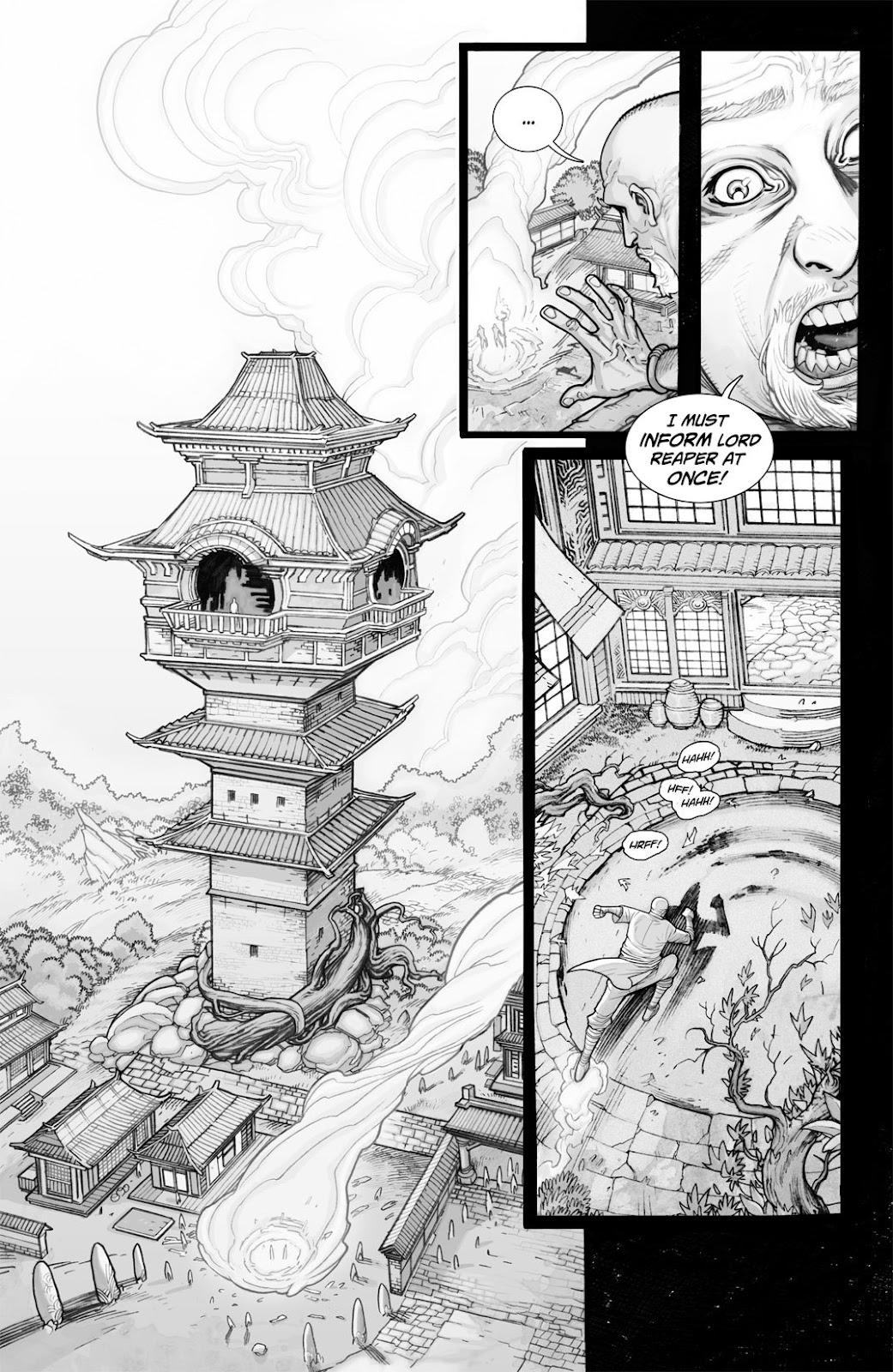 Read online Reaper comic -  Issue #2 - 16