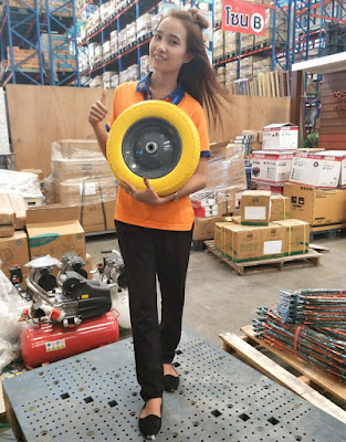 Buriram Thailand Imported PU No Flat Tire