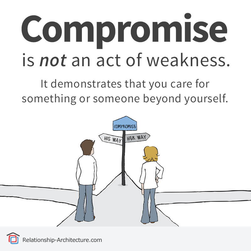 compromise in a relationship without changing yourself for the better