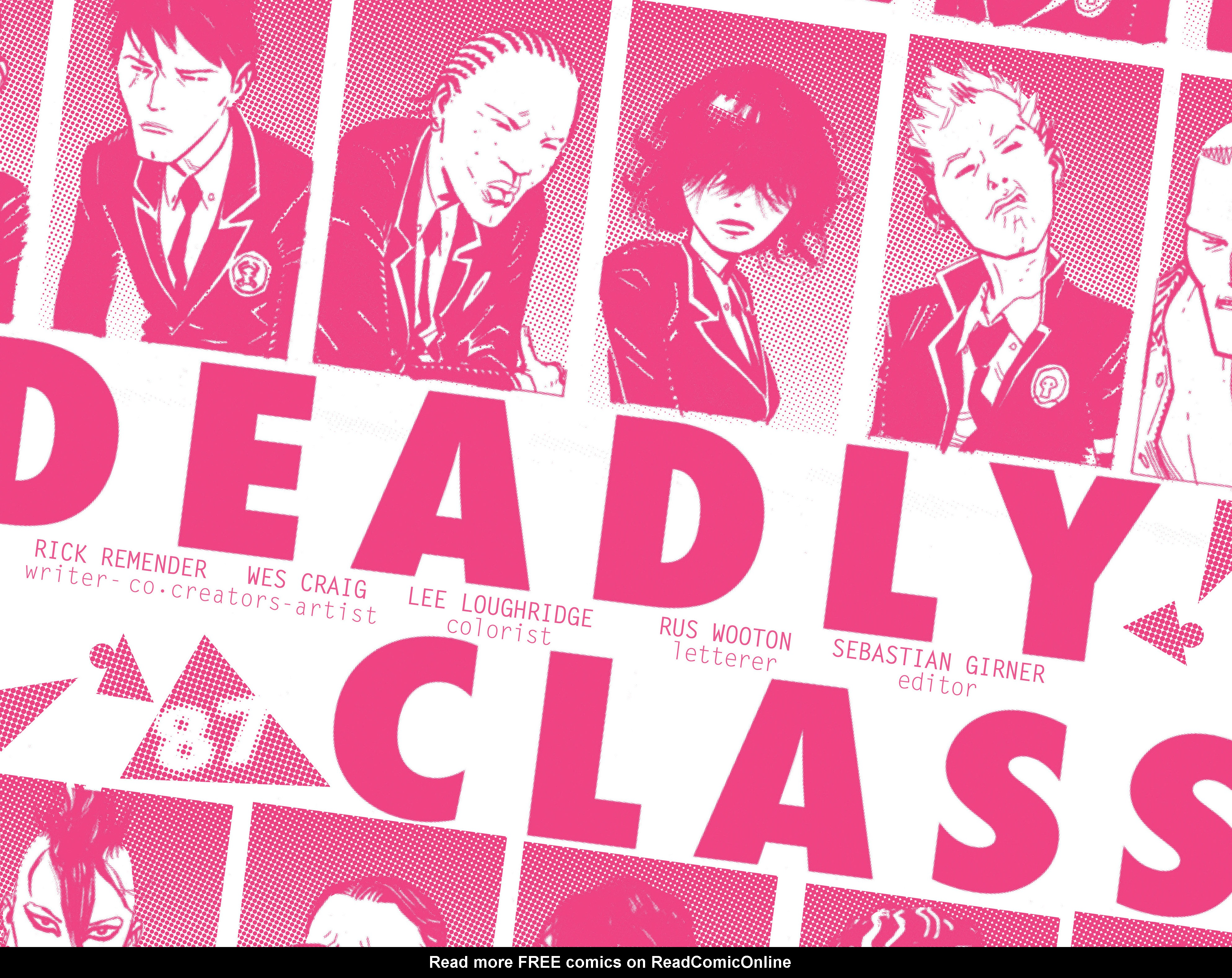 Read online Deadly Class comic -  Issue #5 - 4