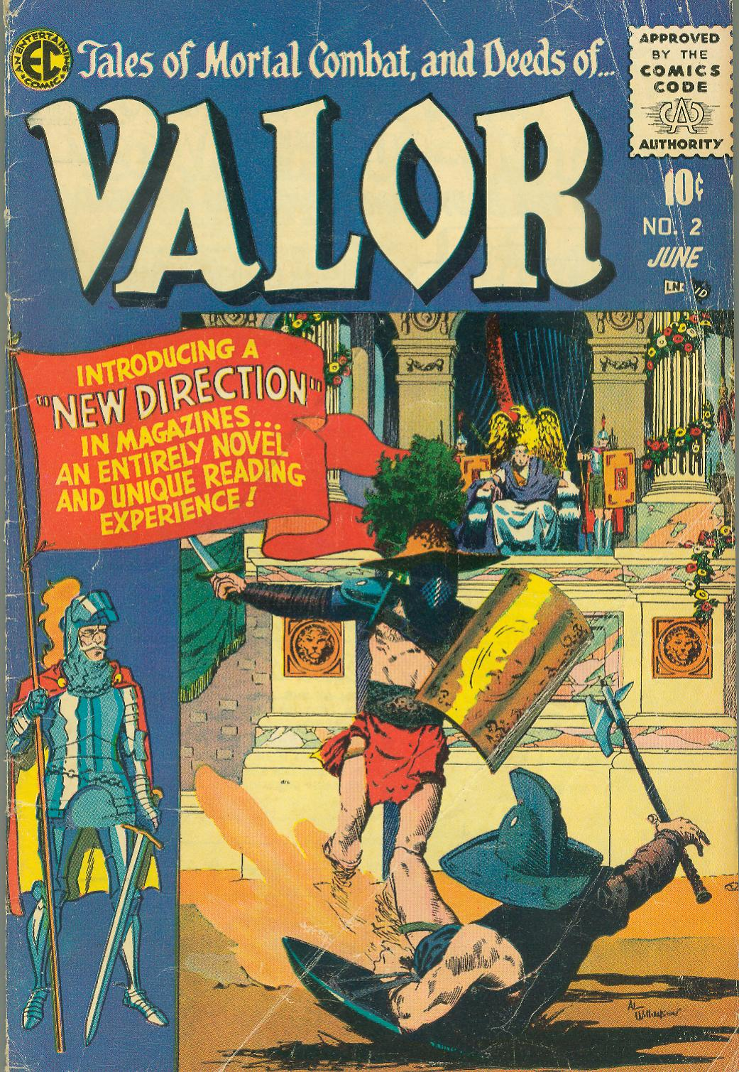 Valor (1955) issue 2 - Page 1
