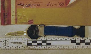 Teresa Halbach's ignition key