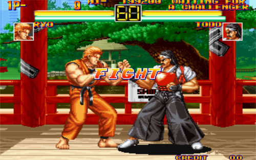 Art of Fighting Serisi Full