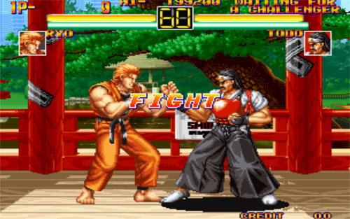 Art of Fighting Serisi Full