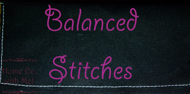 balanced stitches how to