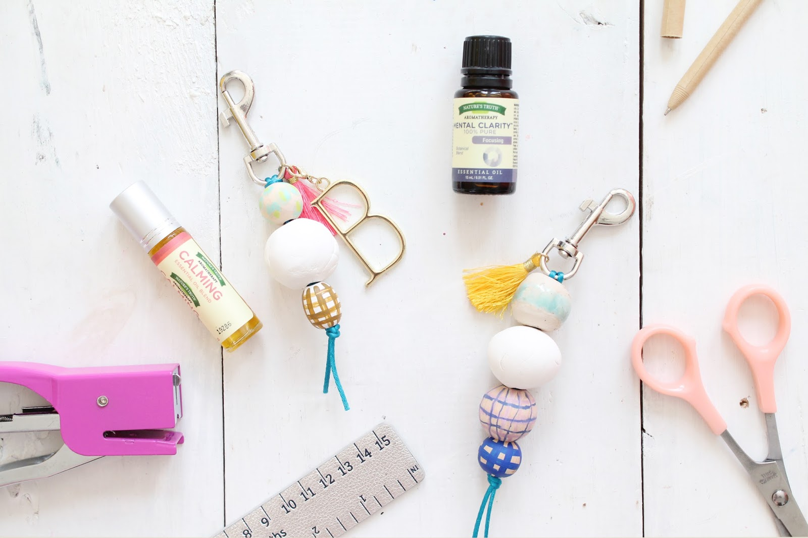 Make a Diffuser Keychain for Essential Oils