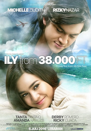 Film I LOVE YOU FROM 38000 FEET 2016