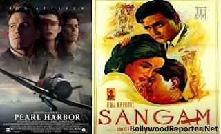 Pearl Harbor (2001)- Sangam (1964)