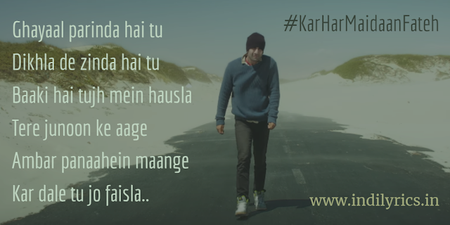 Kar Har Maidaan Fateh | Sanju | Sukhwinder Singh & Shreya Ghosal | full song Lyrics with English Translation and Real Meaning