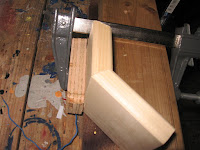 Join the 2 parts together and clamp them to the jig