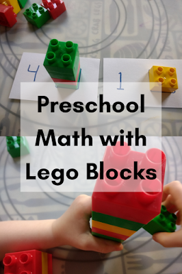 Preschool Math with Lego Blocks