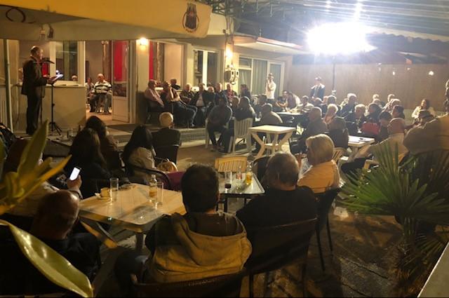 Με μεγάλη επιτυχία η επίσκεψη του υποψηφίου Δημάρχου Πύδνας-Κολινδρού κ. Ανέστη Μανώλα στα Ρυάκια