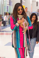Priyanka Chopra in Colorful Jumpsuit arriving at JFK Airport New York 18 June 2017 ~  Exclusive 012.jpg