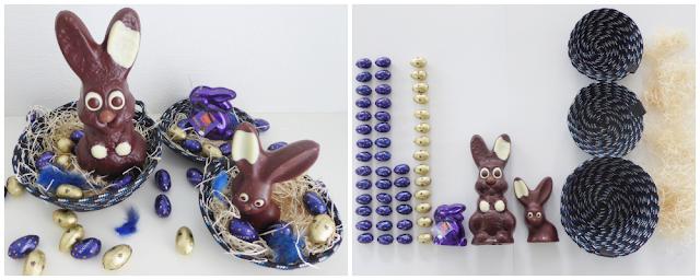 mit Strich und Faden: Kunst aufräumen Ostern oder Osternest