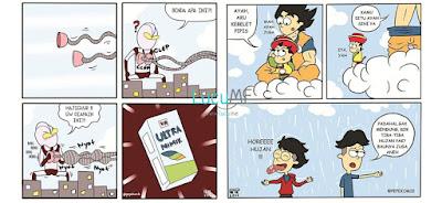 10 Komik Strip Tokoh Kartun Tontonan Anak-anak 90-an Ini Bikin Ketawa Ngakak