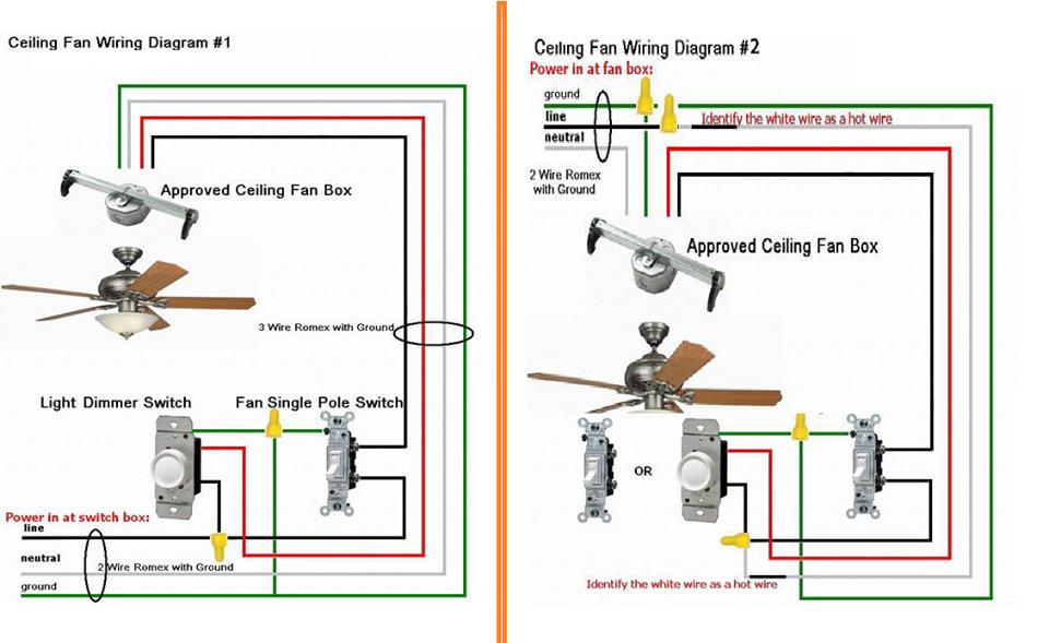 fantastic fan wire diagram